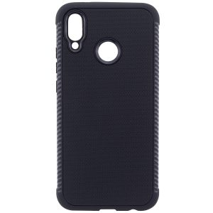 Черный силиконовый (TPU) чехол Weave для Huawei P20 Lite (Black)