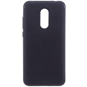Cиликоновый (TPU) чехол Carbon  для Xiaomi Redmi 5 Plus (Black)