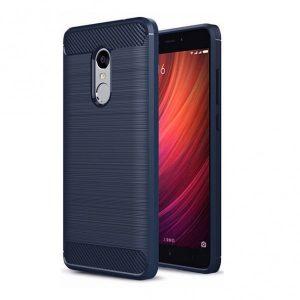 Cиликоновый (TPU) чехол Slim Series для Xiaomi Redmi 5 Plus (Navy Blue)