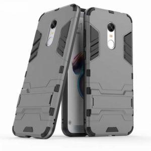 Ударопрочный чехол Transformer с подставкой для Xiaomi Redmi 5 (Gun Metal)