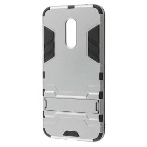 Ударопрочный чехол Transformer с подставкой для Xiaomi Redmi 5 Plus (Silver)