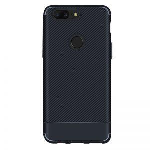 Cиликоновый (TPU) чехол Carbon для Xiaomi Redmi 6 (Синий)