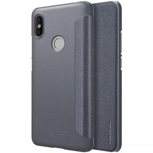 Кожаный чехол (книжка) Nillkin Sparkle Series для Xiaomi Redmi S2 (Black)