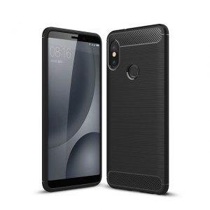 Силиконовый TPU чехол — бампер Slim Series для Xiaomi Redmi S2 (Black)