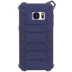 TPU+PC чехол Deen Beetle с ремешком для Samsung G930F Galaxy S7 (Синий)