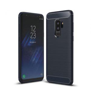 Cиликоновый (TPU) чехол Slim Series  для Samsung Galaxy S9 (Navy)
