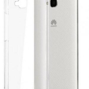 Прозрачный силиконовый (TPU) чехол (накладка) для Huawei Y6 Pro 5