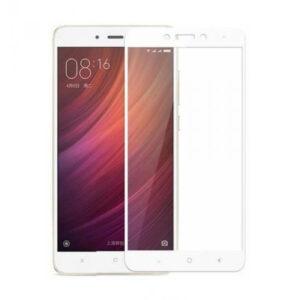 Защитное стекло 2.5D (3D) Full Cover на весь экран для Xiaomi Redmi 4 Prime / 4 Pro – White