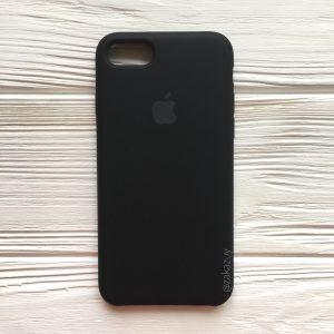 Оригинальный силиконовый чехол (Silicone case) для Iphone 7 / 8 (Black) №7