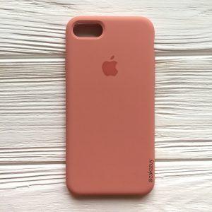 Оригинальный силиконовый чехол (Silicone case) для Iphone 7 / 8 (Flamingo) №25