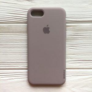 Оригинальный силиконовый чехол (Silicone case) для Iphone 7 / 8 (Lavender) №34