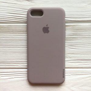 Оригинальный чехол Silicone Case с микрофиброй для Iphone 7 / 8 №34 (Lavender)