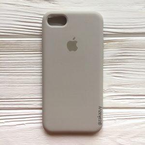 Оригинальный силиконовый чехол (Silicone case) для Iphone 7 / 8 (Light cocoa) №16