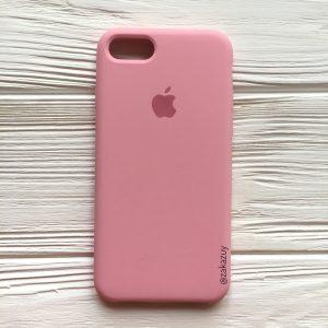 Оригинальный силиконовый чехол (Silicone case) для Iphone 7 / 8 (Pink) №35