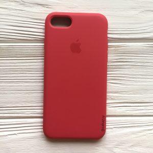 Оригинальный силиконовый чехол (Silicone case) для Iphone 7 / 8 (Rose) №40
