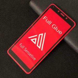 Защитное стекло 3D (5D) Perfect Glass Full Glue Inavi на весь экран для Xiaomi Redmi 6 / 6A – Black