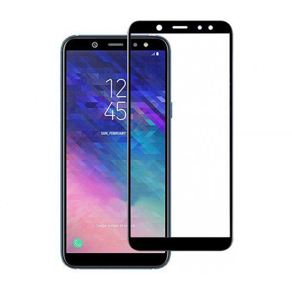 Защитное стекло 3D Full Glue (на весь экран) для Samsung A600FZ Galaxy A6 2018 (Black)