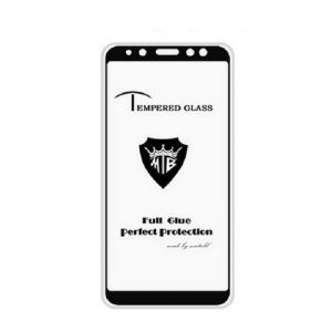 Защитное стекло 4D Full Glue (на весь экран) для Samsung A600FZ Galaxy A6 2018 (Black)