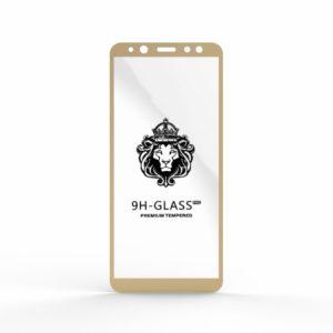 Защитное стекло 4D Full Glue (на весь экран) для Samsung A600FZ Galaxy A6 2018 (Gold)