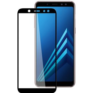 Защитное стекло 3D (5D) Full Glue Armor Glass на весь экран для Samsung Galaxy A6 Plus 2018 (A605) – Black