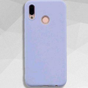 Сиреневый матовый силиконовый (TPU) чехол (накладка) Soft Touch для Huawei P Smart Plus / Nova 3i (Lavender)