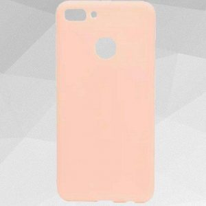 Матовый силиконовый TPU чехол на Huawei Y7 Prime 2018 / Honor 7C Pro (Light Pink)