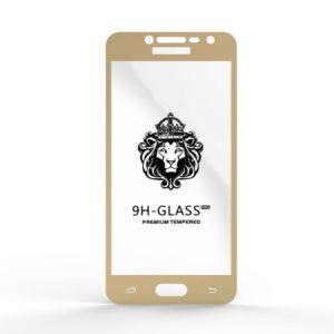 Защитное стекло 4D Full Glue (на весь экран) для Samsung J250 Galaxy J2 (2018) / J2 Pro (2018) Gold