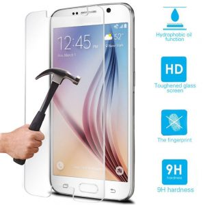 Защитное стекло 2.5D для Samsung J300 Galaxy J3