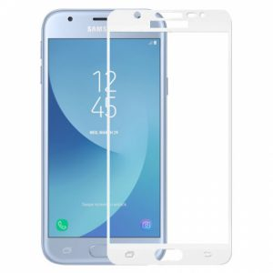 Защитное стекло 2.5D (3D) Full Cover Premium Tempered на весь экран для Samsung Galaxy J3 2017 (J330) – White