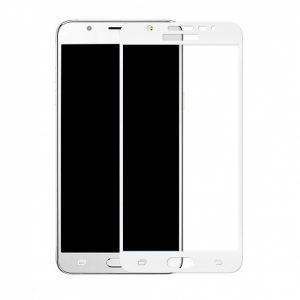 Защитное стекло 3D Full Cover (на весь экран) для Samsung J510 Galaxy J5 (2016) White