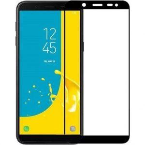 Защитное стекло 3D (5D) Full Glue Armor Glass на весь экран для Samsung Galaxy J6 2018 (J600) –  Black