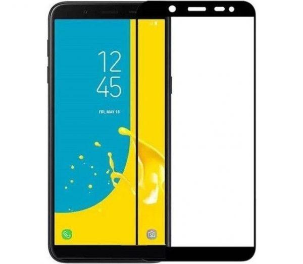 Защитное стекло 3D Full Glue (на весь экран) для Samsung J600 Galaxy J6 (2018) Black