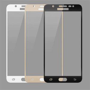 Защитное стекло 2.5D (3D) Full Cover на весь экран для Samsung Galaxy J7 2016 (J710) – White