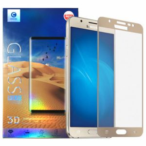 Защитное стекло 2.5D (3D) Mocolo Full Cover на весь экран для Samsung Galaxy J7 2017 (J730) – Gold