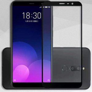 Защитное стекло 2.5D (3D) Full Cover на весь экран для Meizu M6T — Black