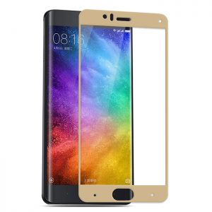 Защитное стекло 2.5D (3D) Full Cover на весь экран для Xiaomi Mi 6 – Gold
