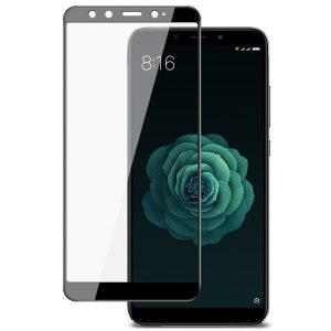 Защитное стекло 3D (5D) Full Glue Armor Glass на весь экран для Xiaomi Mi 6x / Mi A2 — Black
