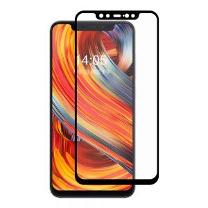 Защитное стекло 3D (5D) Full Glue Armor Glass на весь экран для Xiaomi Mi 8 – Black