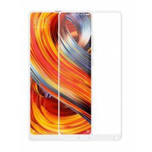 Защитное стекло 3D (5D) Full Glue Armor Glass на весь экран для Xiaomi Mi Mix 2 / Mi Mix 2s – White