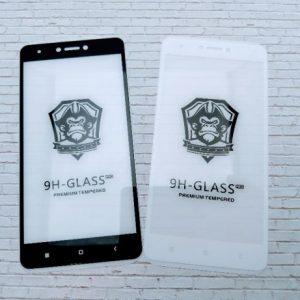 Защитное стекло 4D Full Glue для Xiaomi Redmi Note 4X / Note 4 (SD) White