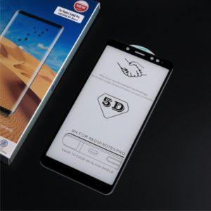 Защитное стекло 5D Full Glue для Xiaomi Redmi Note 5 / Note 5 Pro (Black)