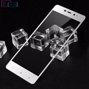Защитное стекло 3D Full cover (на весь экран) для Xiaomi Redmi 4 Pro / Prime (White)