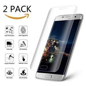 Защитное стекло 3D Full Cover (на весь экран) для Samsung G928F Galaxy S6 Edge Plus (Прозрачное)