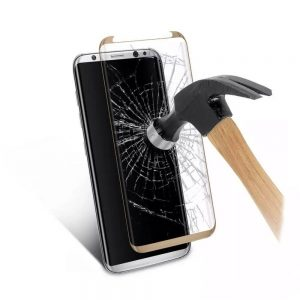 Защитное стекло 3D (5D) Full Glue Tempered Glass для Samsung Galaxy S8 (G950) – Gold