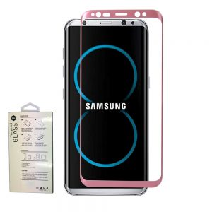Защитное стекло 3D Full Cover на весь экран для Samsung G950F Galaxy S8 – Rose
