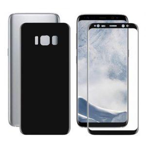 Защитная пленка 3D (на зад) для Samsung G950F Galaxy S8 (Black)