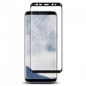 Защитное стекло 3D Full Cover (на весь экран) для Samsung G960F Galaxy S9 (Black)