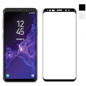 Защитное стекло 3D Full Cover на весь экран для Samsung G965F Galaxy S9 Plus – Black