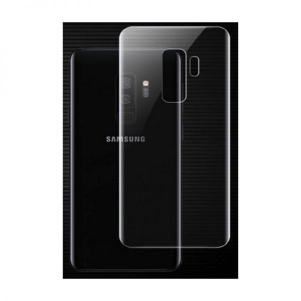 Защитная пленка 3D (на зад) для Samsung G965F Galaxy S9 Plus (Прозрачная)