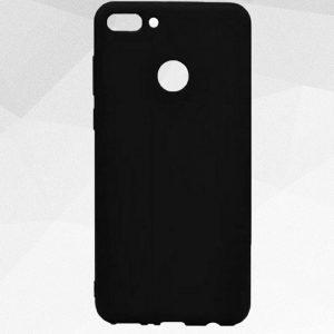 Матовый силиконовый ультратонкий чехол Soft Touch для Y6 Prime 2018 / Honor 7A Pro / Honor 7C (Black)